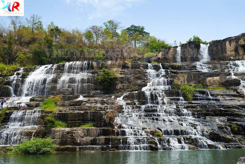 Pongour Waterfall in Dalat, Vietnam