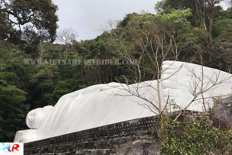 Ta Cu mountain with the longest reclining Buddha statue in Southeast Asia