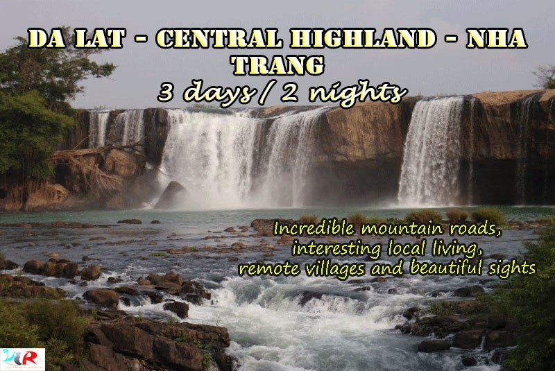 Dalat Motorbike Adventure Tour to Nhatrang in 3 days