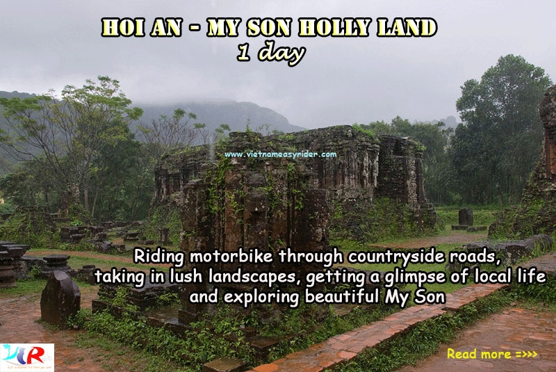 Hoian/Danang to My Son Sanctuary motorbike tour