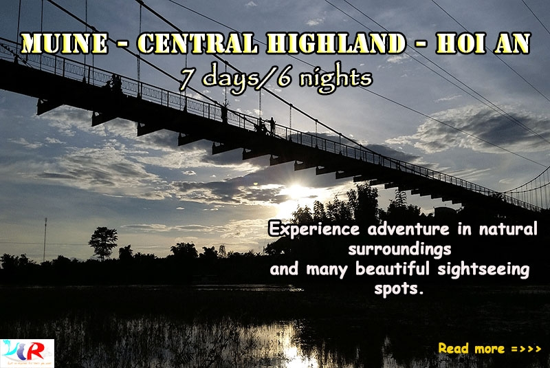 Muine Easy Riders Trip to Central Highland to Hoi An in 7 days